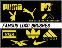 Famous logo brushes by Alterna666