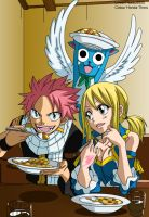 Ft nalu movie moment -colour-. by Honda-Thoru