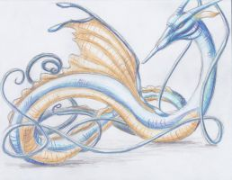 December 11th 2012: Kingdra by UltimateSassMaster