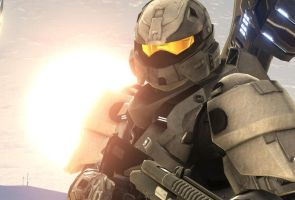 Halo 3 Spartan by Spino-Gill