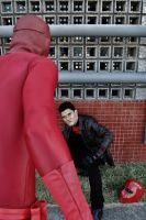 Red Hood Vs Daredevil - Parking Lot Brawl Pt.2 by DashingTonyLima