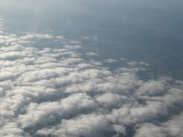 Plane clouds 06 by Party-Hat-Cat