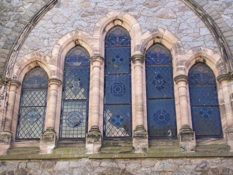 Stained Glass Windows by RayvenStock