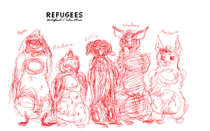 Refugees concept 3 by merpyfrost