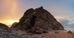 Arch Rock Pano by prperold