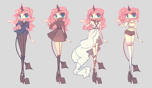 Criime outfits v.2 by agent-lapin
