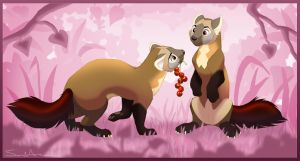 Berries For A Kiss? by SarityCreations