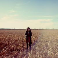 Alora and a field by Andross01