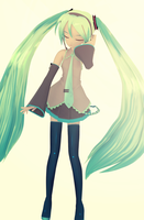 VIDRO Miku by NoUsernameIncluded
