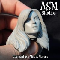 Goblin Queen Face Sculpt by ASM-studio