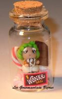 FIMO MINI WONKA OOMPA LOOMPA by GourmandisesBijoux