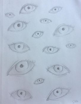 Eyes by P-jelly