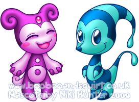 Booboo and Squirt by Niki-UK
