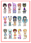 .:Huge Collab Set:. { closed } [ EDIT ] by curled-mustache