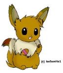 Winnie the eevee colored by MasatoMax
