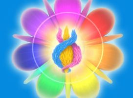 Chakra Flame in Blue by Cormael