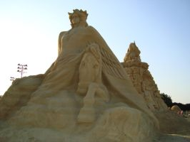 Sand art in burgas 5 by tonev