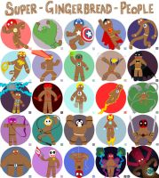 Super Gingerbread People by EO88