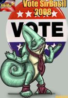 Vote Sir Basil 2008 by All-Crazy-Reptiles