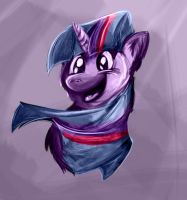 Twilight Sparkle Test by MinkWinsor