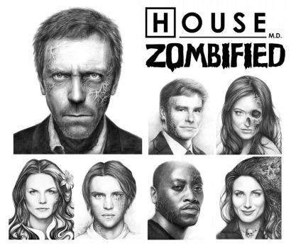 House MD: Zombified by Olechka01