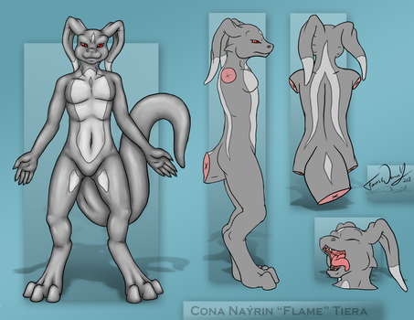 Cona Nayrin the ForcesWerwolf by ForcesWerwolf
