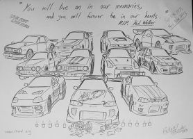 My tribute to Paul Walker... by Ricky47