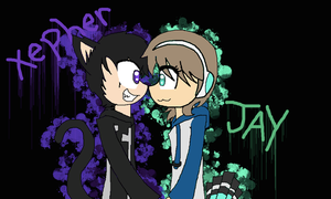 Xepher x Jay :3 by RandomWorld123