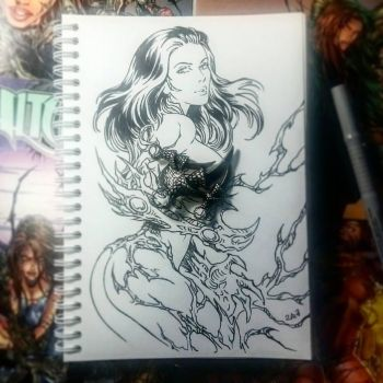 Instaart - Witchblade (NSFW optional) by Candra