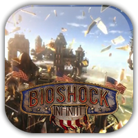Bioshock Infinite Game Icon by Wolfangraul