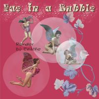 Faery in a bubble pack 1 by Ecathe