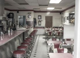 50s Diner by TheBirdsFeathers
