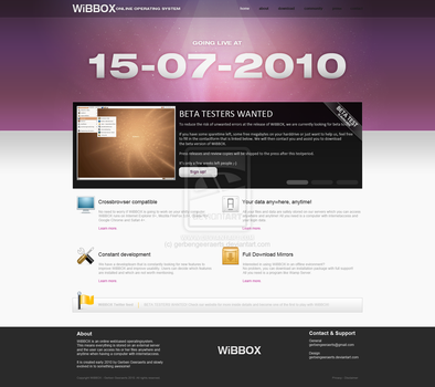 Online Operating System by gerbengeeraerts