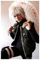 Young Jiraiya Jonin by Leox90