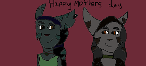 Happy Mothers day by silverwolfcrystal12