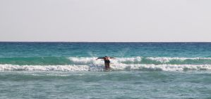 Body Surfing 19126737 by StockProject1