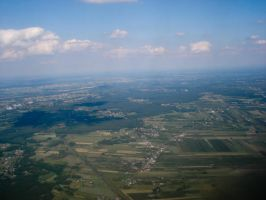 Poland from the plane... by SimekOneLove