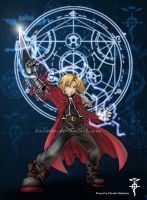 Edward Elric by Kalleder