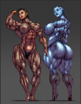 SUPER JACK AND LIARA by B9TRIBECA