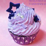 Lavender Monochrome Fake Cupcake by FrostedFleurdeLis