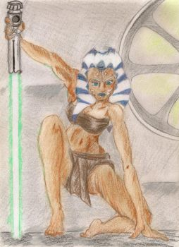 Ahsoka: I'm Not Going Out Without A Fight by Raqonteur