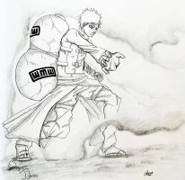 Gaara of the Sand by HyruleExorcist