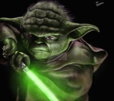 Yoda by Pandoras-Encore