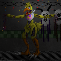 Withered Chica by InkFire-RainbowPrism