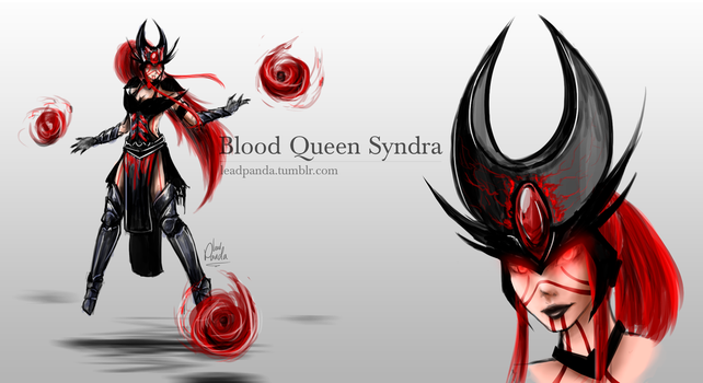 Blood Queen Syndra Concept - LoL by Leadpanda