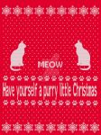Have yourself a PURRY little Christmas by vivalajester