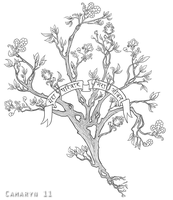 Commission: Anna's Tree of Life by Camaryn