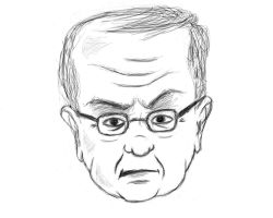 Sketching and illustrating #General #Michel #Aoun by asendos