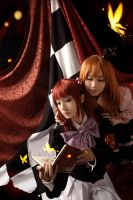 Umineko_grieving heart by hybridre