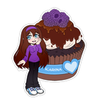 Comm. Food Sticker. Karina by 13VOin